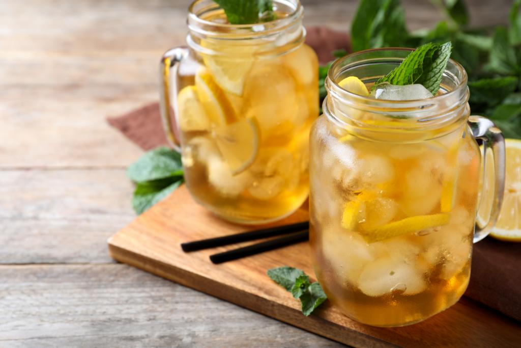 thé glacé plante du jardin menthe